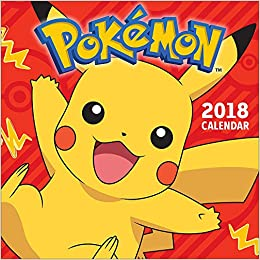 Calendrier De Lavent Pokemon 2020.Pokemon 2018 Wall Calendar Amazon Co Uk Pokemon