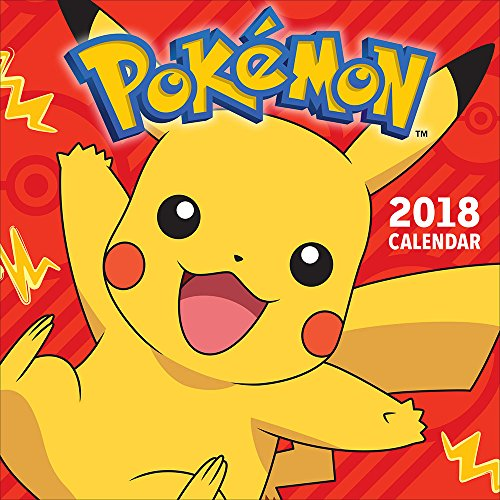 Pokémon 2018 Wall Calendar