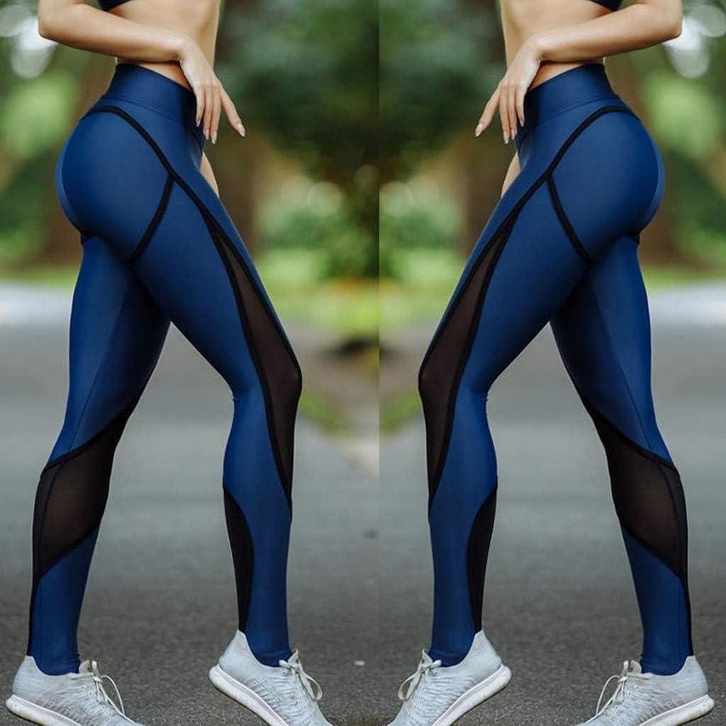 Leggings de Sport SANFASHION Femme Pantalon Yoga Fitness Minceur Long avec Poches Basique Leggings /élastique Running Sport Skinny