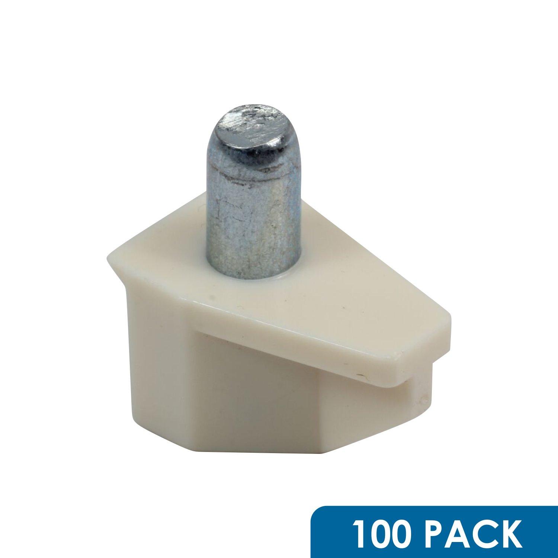 durable modeling 100 pack rok hardware 5mm creme almond shelf