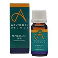 Absolute Aromas Pure Peppermint US Essential Oil 10ml - Cooling, refreshing and clearing can be used in a diffuser or for Aromatherapy Use.