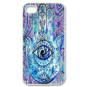 LTTcase Personalised Custom Hamsa Cover Case for iphone 4,4s
