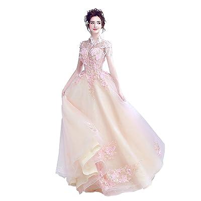 54c257959014f カラードレス 花嫁ドレス ロング ウエディングドレス 二次会 パーティードレス プリンセス ウェディングドレス 披露宴 カクテルドレス