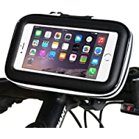 SIOTI Bike Phone Mount Holder [Upgraded Version] Universal Smartphone Bicycle Bike Waterproof Pouch Holster Case for iPhone 7 Plus 6 Plus 6s Plus etc up to 5.7 inches Devices
