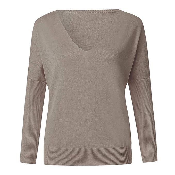 HWTOP ☺Pullover Strickjacken für Damen, Sweatshirts