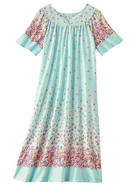 390605ff87 AmeriMark Waltz Length Lounger at Amazon Women s Clothing store