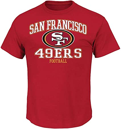 Majestic GREATNESS Shirt San Francisco 49ers rot