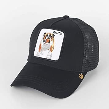 QQYZ Ciervo Bordado Gorra De Béisbol Animal Logo Gorra Bordada ...