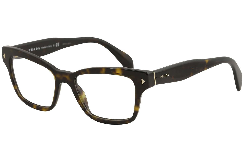 4774482d5845 Prada Women s PR 10SV Eyeglasses Havana 51mm at Amazon Men s Clothing store