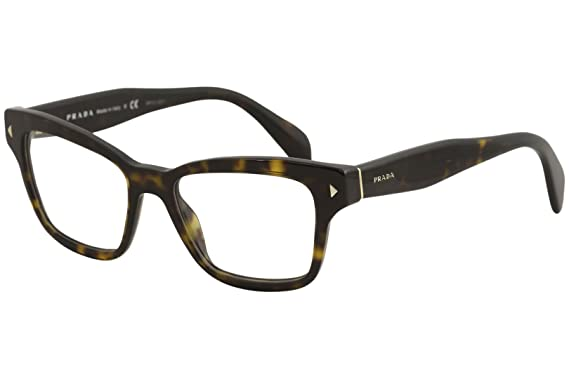 aef4589a8309 Image Unavailable. Image not available for. Color: Prada Women's PR 10SV Eyeglasses  Havana 51mm