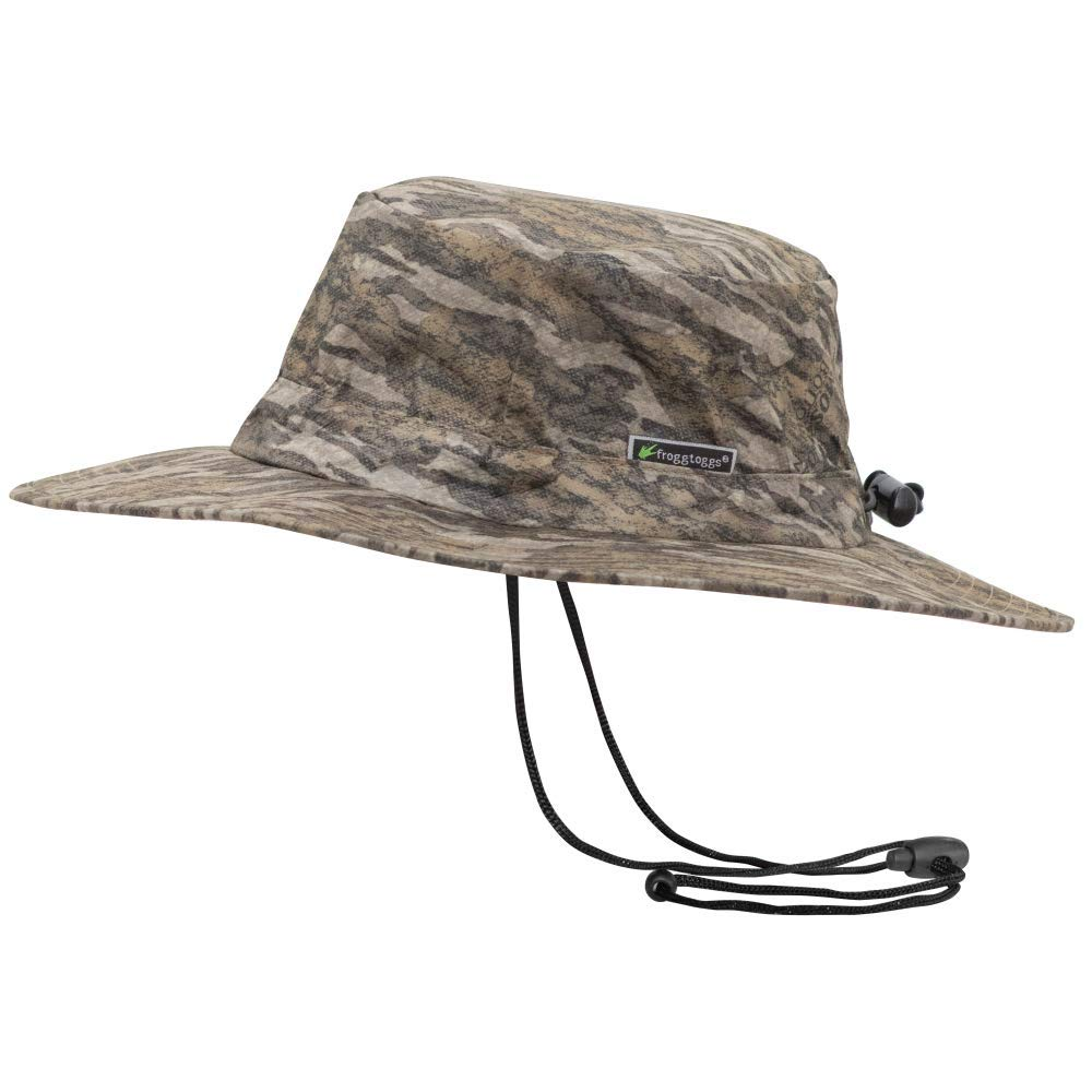 Frogg Toggs FTH103-50 Waterproof Boonie Hat, Mossy Oak Bottomland, Adjustable by Frogg Toggs