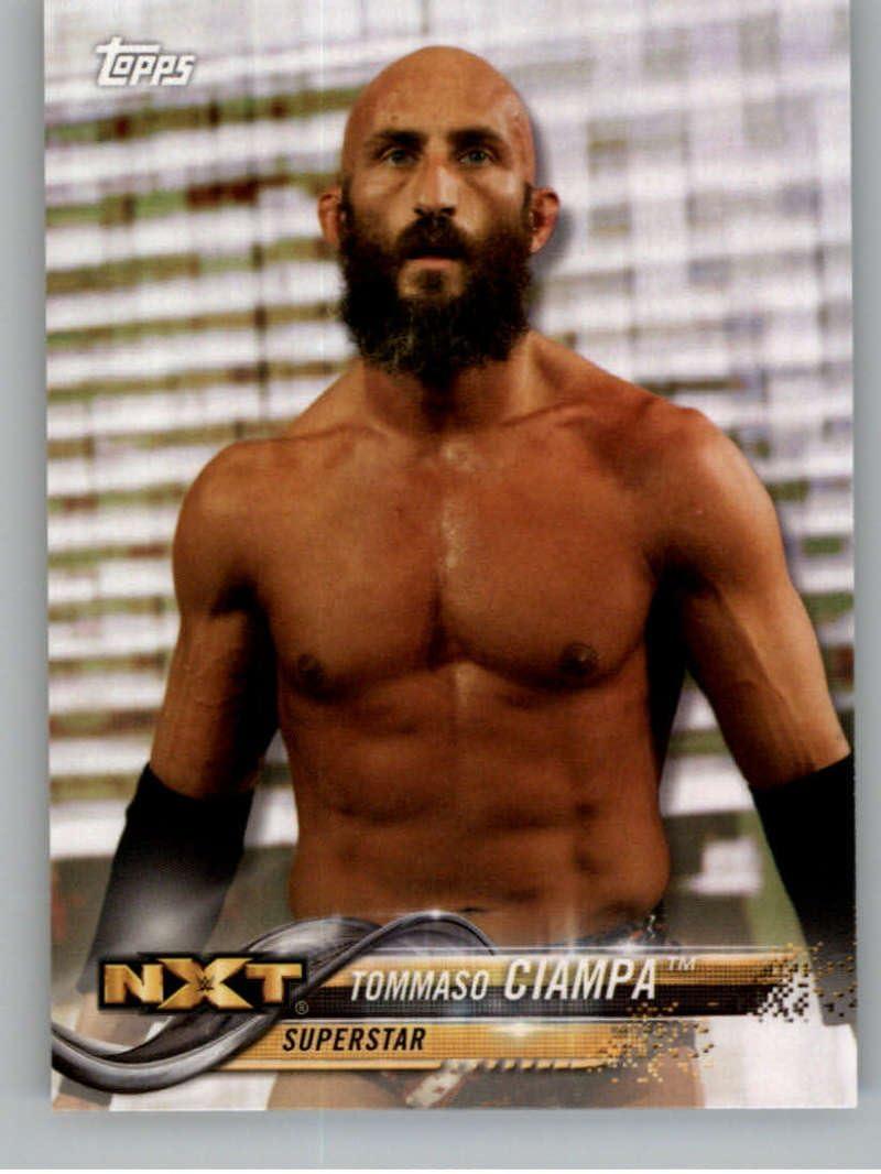 2018 Topps Wrestling WWE #91 Tommaso Ciampa NXT Sports Card