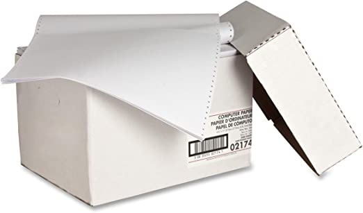 White Plain 2550 Sheets Count Sparco Computer Paper 9-1//2 x 11 Inches 20 lbs SPR61391
