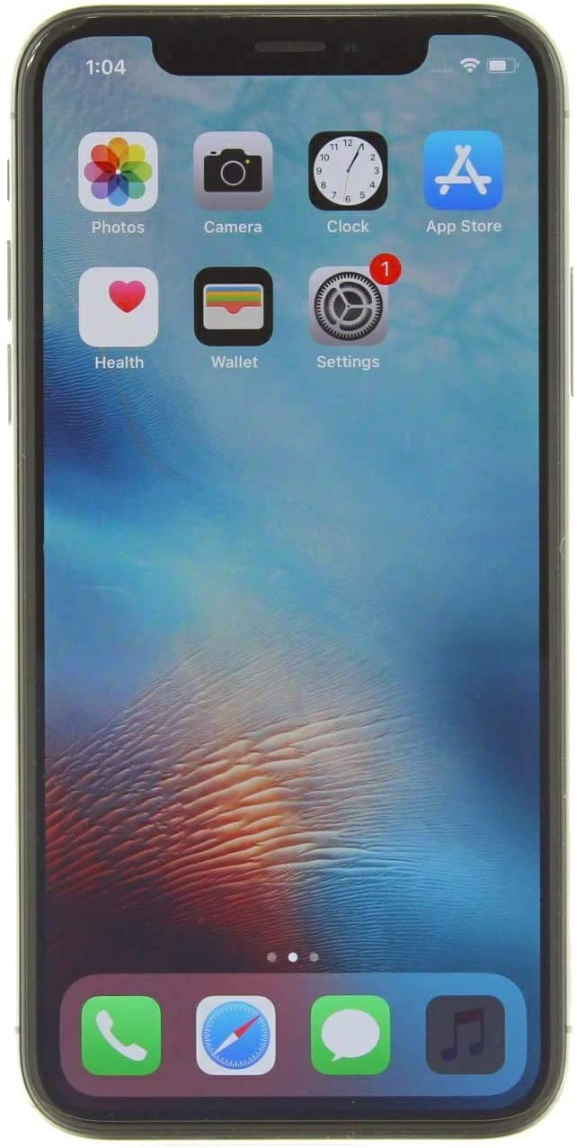 Apple iPhone X, 256GB, Space Gray - For T-Mobile (Renewed)