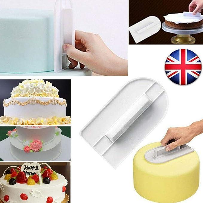 Cake Decorating Smoother Paddle Tool Icing Fondant Sugar craft Polisher Finisher