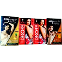 Manforce and SKORE Mix Extended pleasure pack(4 pack of 10's)
