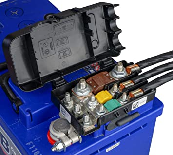 Amazon.com: MTA Battery positive terminal with Power Distribution Fuse Box:  Automotive | Battery Fuse Box |  | Amazon.com