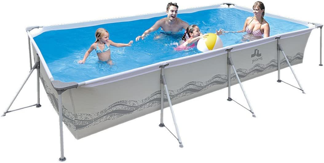 Jilong JL017442ND -P45 - Piscina Rectangular con Bomba de Filtro ...