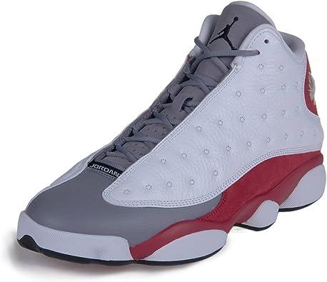 NIKE Mens Air Jordan 13 Retro Grey Toe