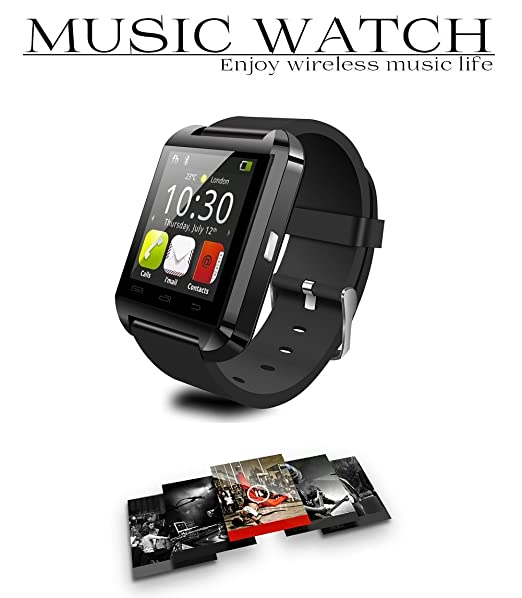 Smart Watch - U8 Bluetooth WristWatch U8 U Watch for Android IOS ...