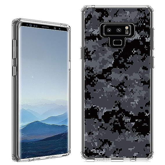 hot sale online d0f5e 28f45 Amazon.com: Galaxy Note 9 Case [Digi Black Camo](Clear ...