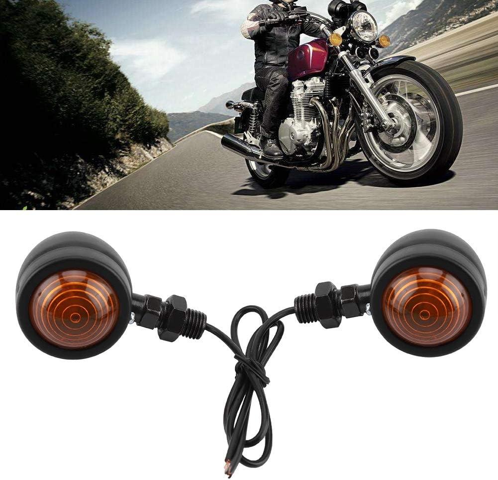 Akozon Lumi/ère principale de tache de LED 12W 6000K Feux de moto Phares Brouillard Voyant clignotant avant