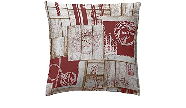 Amazon.com: Martina Home COJIN Covers Marine 50 x 50 cm red ...