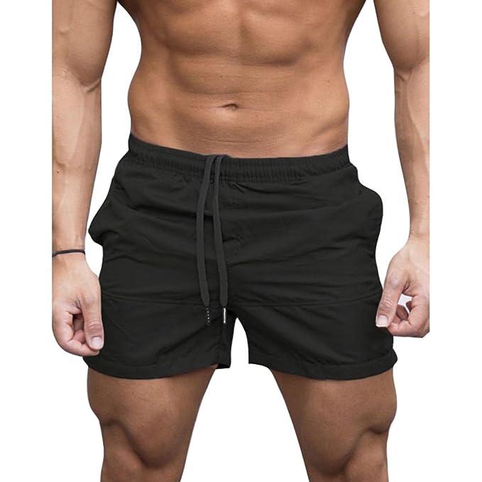 128cc13d076f Yying Hombre Cintura Elástica Shorts - Moda Primavera Verano Otoño ...