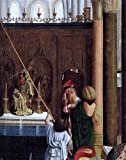 Geertgen Sint Jans The Holy Kinship (detail) - 20'' x 25'' 100% Hand Painted Oil Painting Reproduction