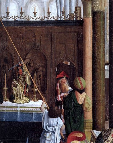Geertgen Sint Jans The Holy Kinship (detail) - 20'' x 25'' 100% Hand Painted Oil Painting Reproduction by Art Oyster
