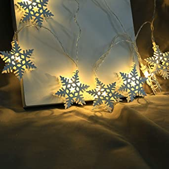 Christmas String Lights Wedding Xmas Party Decor Outdoor Indoor Lamp 20 Led Creative Diy Bedroom Xams Tree Hanging Light Post Amazon Co Uk Lighting