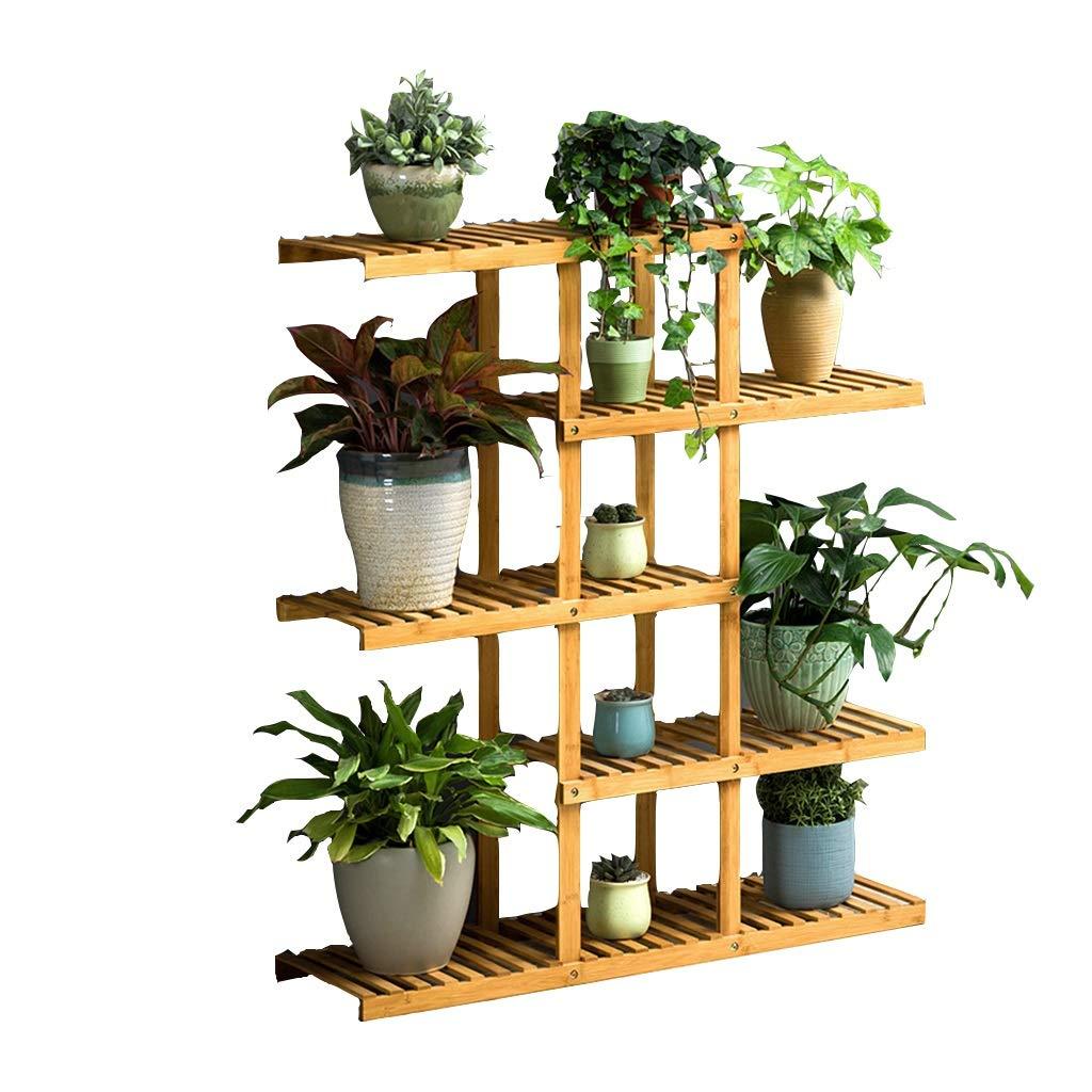 Flower Stand, in Legno massello può Essere assemblato Multi-Layer Plant Display Frame Living Room Garden Balcony Decoration Frame (Dimensioni   5 Layers)
