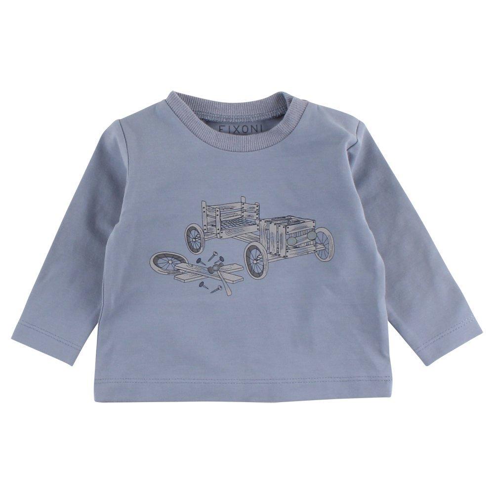 FIXONI Baby Boys' Grow Ls Top Longsleeve T-Shirt 33172