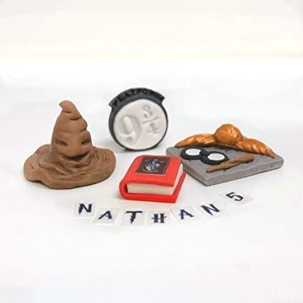 Harry Potter Edible Figure Set Cake Toppers Edible Icing
