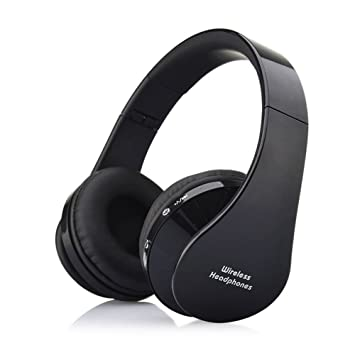 AIYIBEN Auriculares inalámbricos Bluetooth, On Ear Stereo Bass Driven Sound para iPhone, iPod,