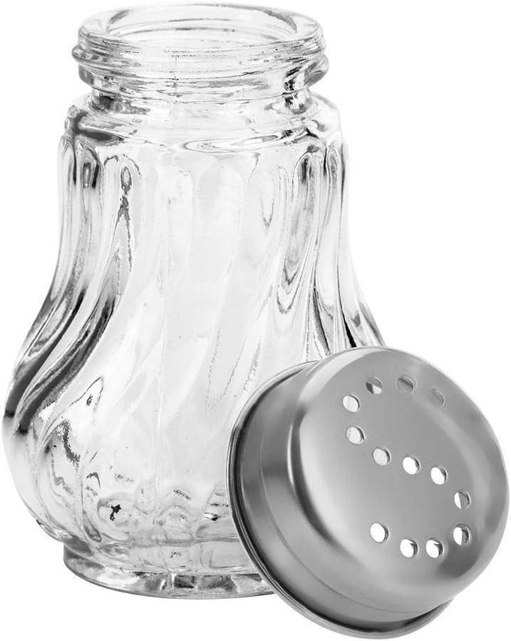 Westmark 630122E2 Traditionell Salero acero inoxidable, cristal