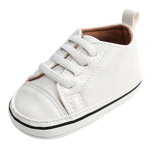 e142c981006ab Minuya Scarpe Bambine Bambino Scarpine Primi Passi Suola Antiscivolo Morbida  Scarpe Sportive Lightweight Outdoors Casual Sneaker