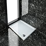Rectangular 1000x760x40mm Stone Tray for Shower Enclosure Cubicle+Free Waste Trap NEXT DAY DELIVERY by sunny showers,ultra