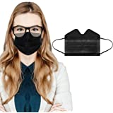 50PC 3-ply Disposable Face Mask for Adults Anti-fog Breathable Face Protective with Nose Wire Balaclava Mouth Dustproof Anti-