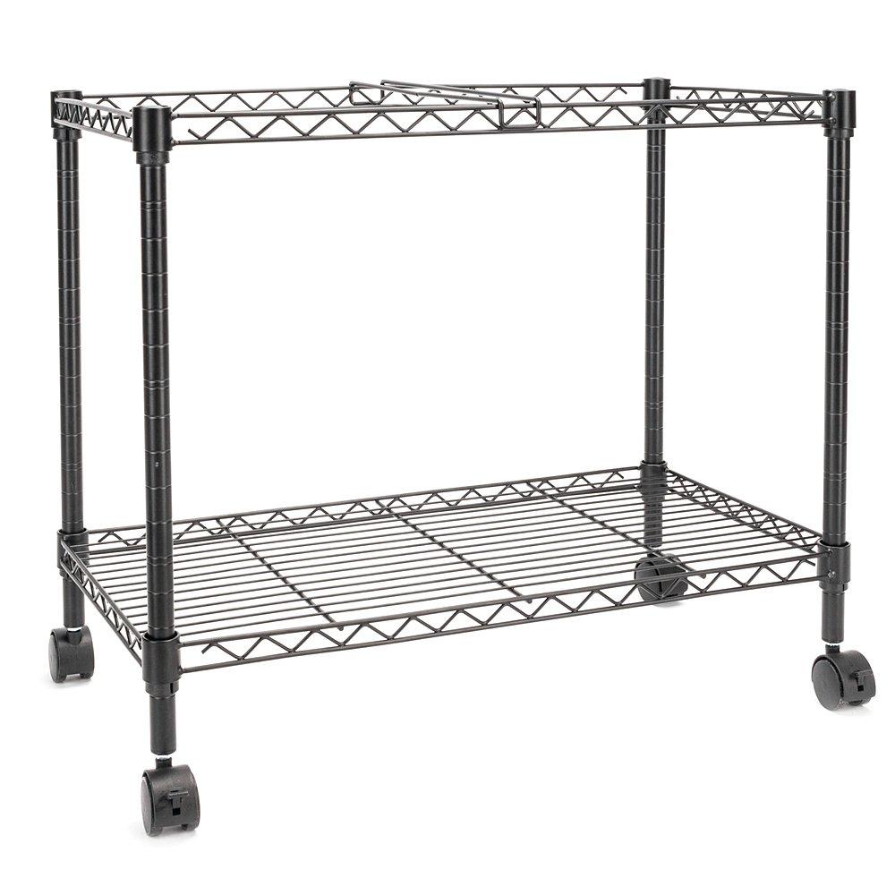 Zippem Single-Tier Rolling File Cart, 24w x 13d x 18h, Black (US Stock) by Zippem (Image #2)