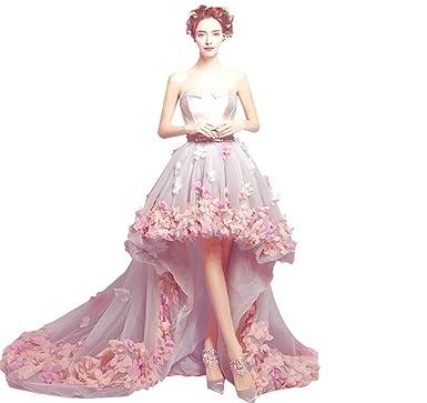 Meibida Flower Women tulle party Evening Dresses 2017 Formal Evening Gown Bride Banquet Prom Dress