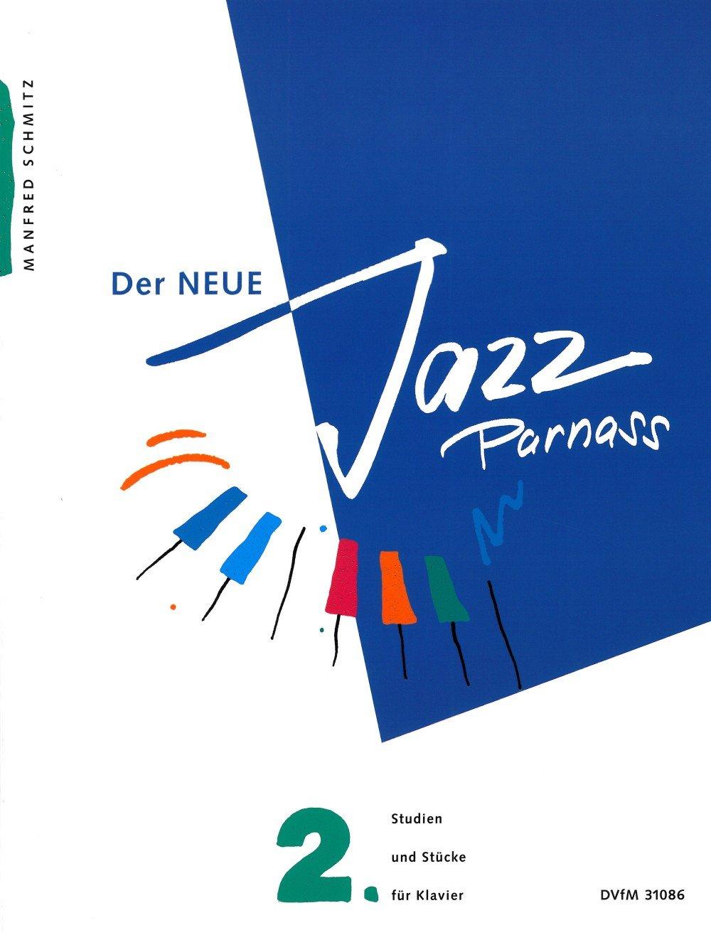 Der Neue Jazz Parnass - 155 Etüden, Stücke und Studien zum kreativen Klavierspiel Band 2 (DV 31086)