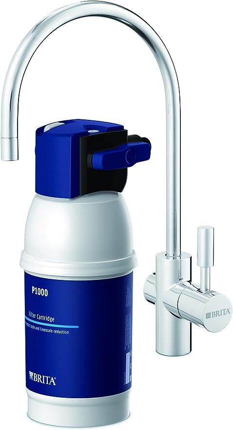 Oferta amazon: BRITAMyPure - Grifo de Agua con Filtro para 12 Meses - Acero Inoxidable, Plateado, Sistema de filtrado, Reduce cal, cloro, metales