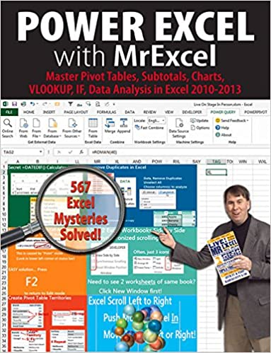Book Power Excel with MrExcel