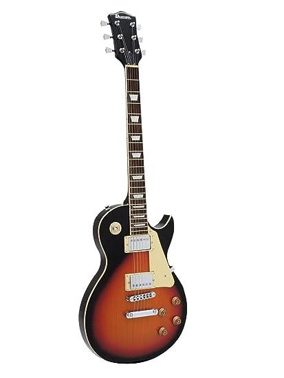 Guitarra eléctrica METEOR CLASSIC con accesorios, sunburst - Guitarra de rock / Guitarra con funda