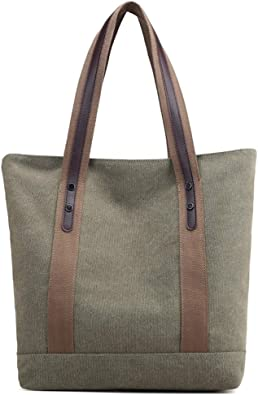 Canvas Shoulder Bags for Women Design Casual Crossbody Tote for Girls Work School Travel Weekender Sturdy Bags