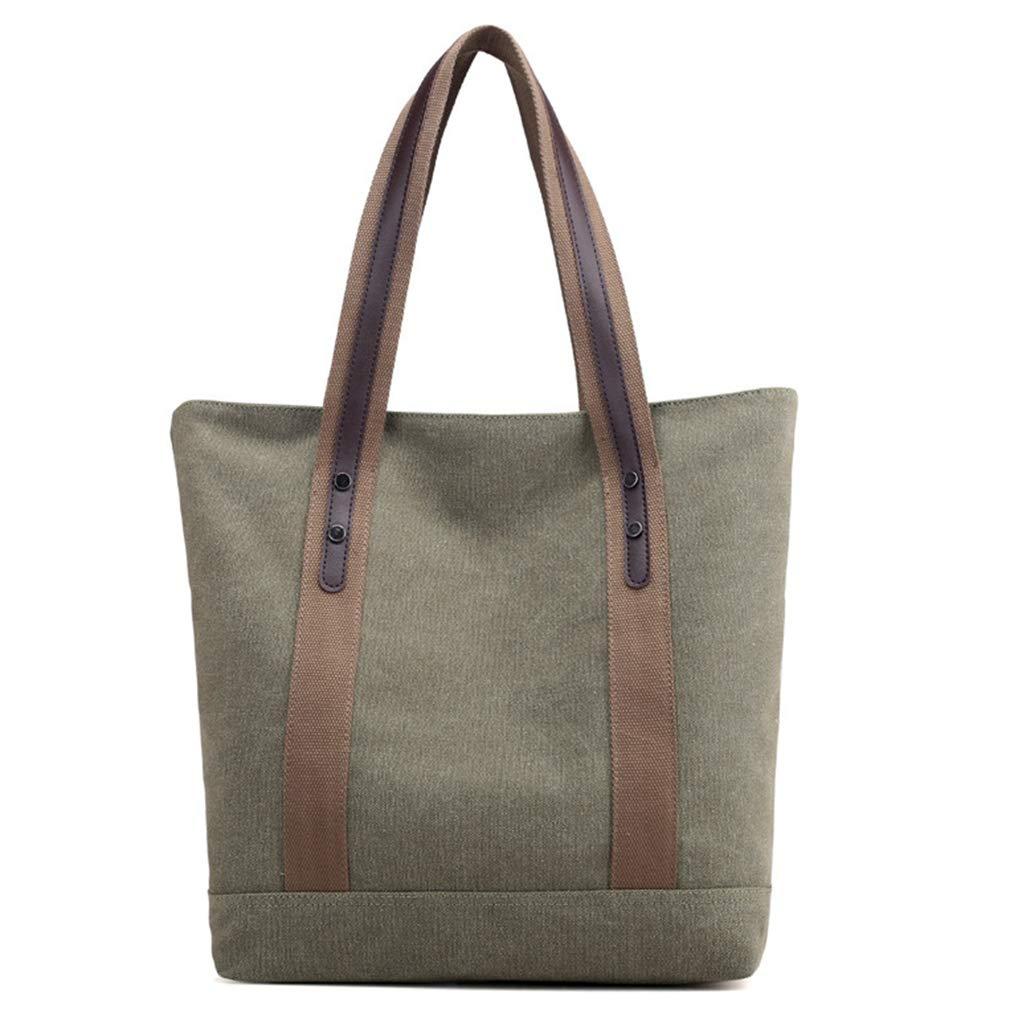 Women's Canvas Large Shoulder Bags Tote Purses Retro Casual Handbags