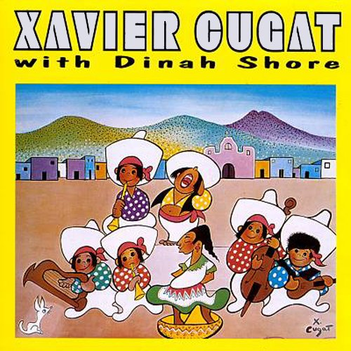 Xavier Cugat With Dinah Shore by Harlequin