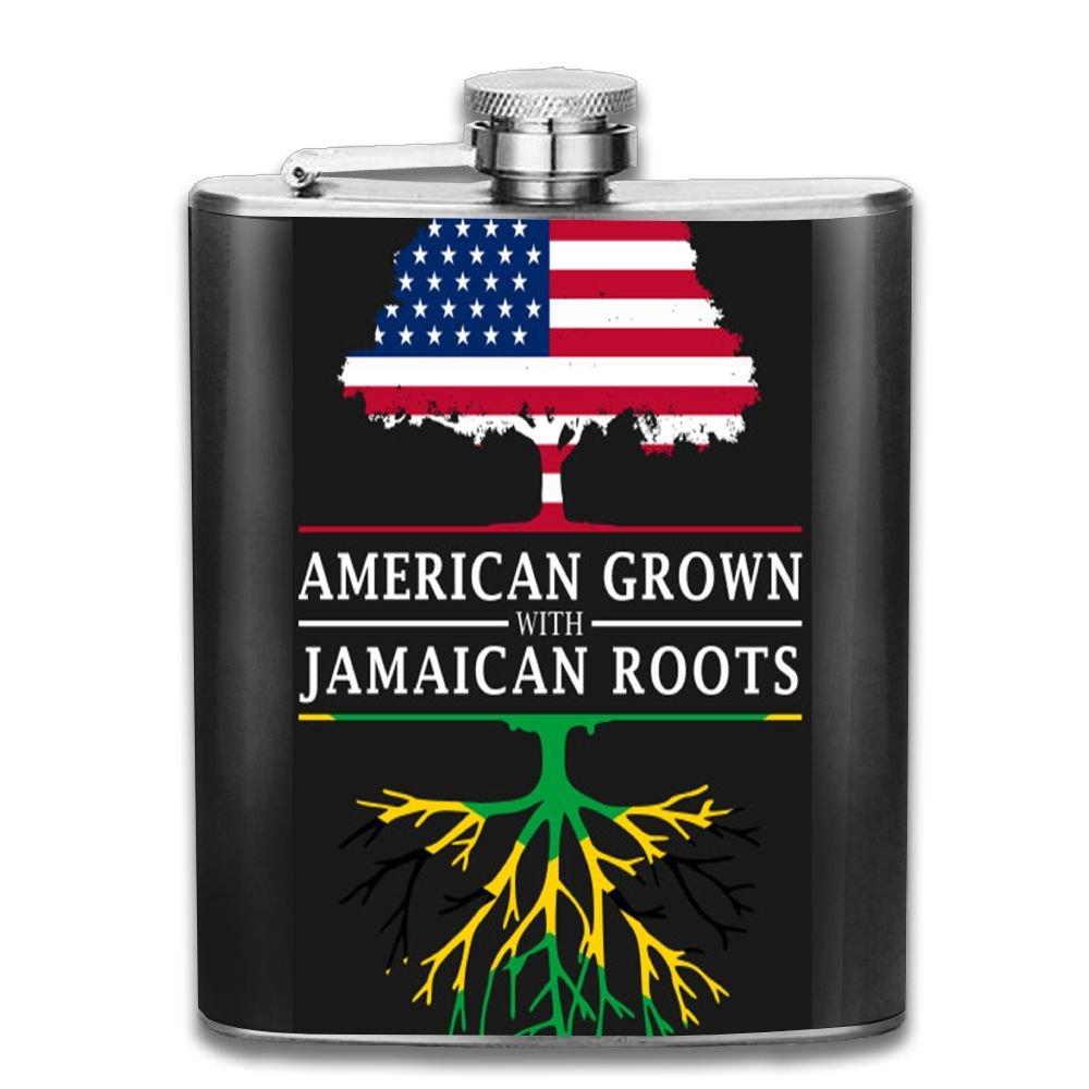 100%品質 JF-X Jamaican Grown Roots ステンレススチールヒップフラスコ Roots パーソナライズド B07CV5TQ1Y リキュー ウィスキー ウィスキー ワインポット フラゴン (7オンス) B07CV5TQ1Y, 大川の家具屋さん:88e65455 --- a0267596.xsph.ru