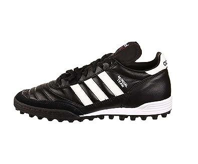 ADIDAS Mundial Team, Fußballschuhe für Herren, Herren, 019228, SchwarzWeißRot (Black Run White red), 39 13
